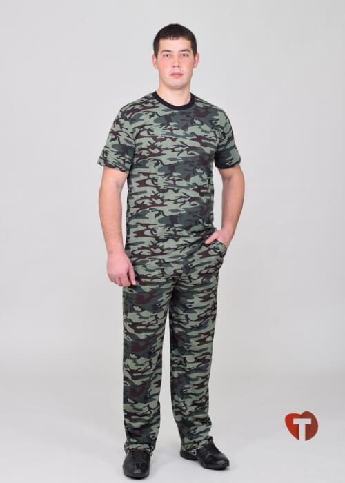 Камуфлированный мужской костюм Белошвейка