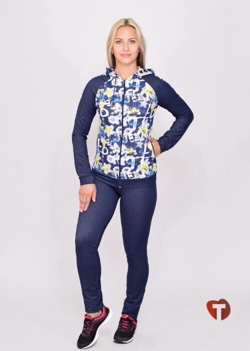 Спортивный женский костюм Белошвейка
