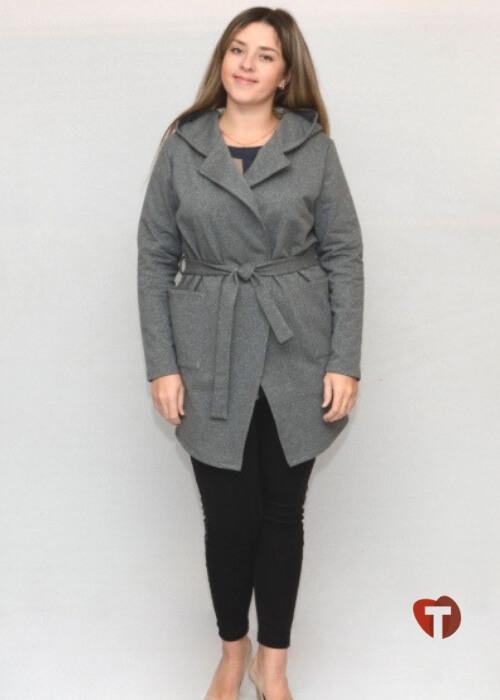 Женский серый кардиган Гомани