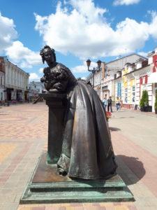Тамбовская Казначейша памятник в Тамбове