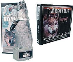 Водка Тамбовский волк
