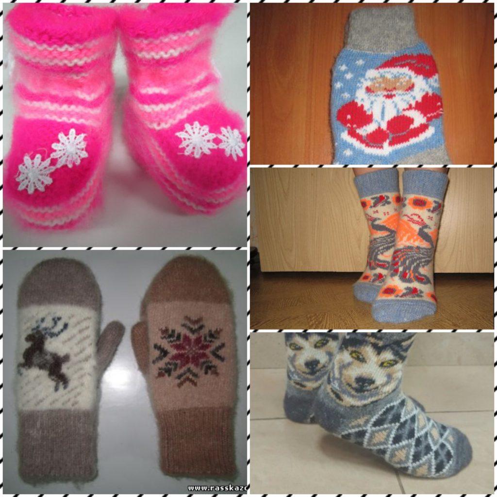 Рассказовские шерстяные носки
