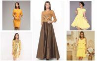 5 разных платьев на новый год