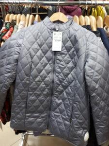 Стеганые куртки со стойкой Элегант Леди