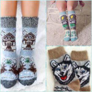 Шерстяные носки компании Волсокс