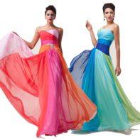 Платья цветные с переходами