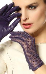 Кружевные перчатки для Водолеев