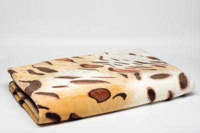 Плед с леопардовым принтом Гомани