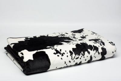 Плед под коровью шкуру Гомани
