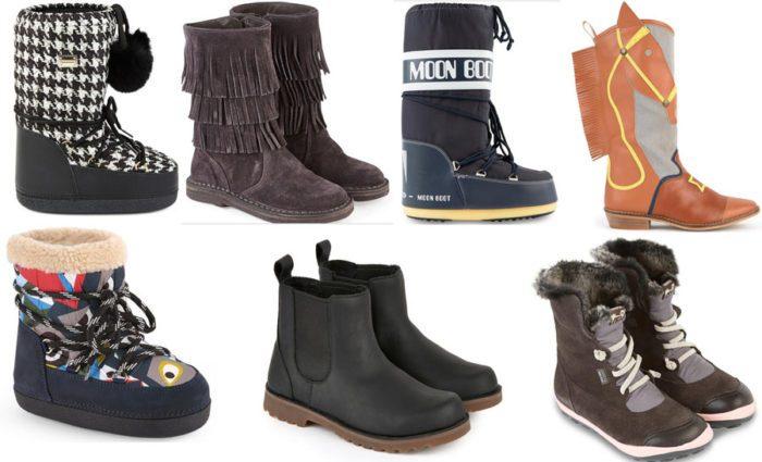 Детская обувь сезона осень-зима 2017/2018