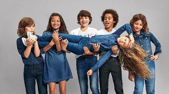 Детская мода на джинсу
