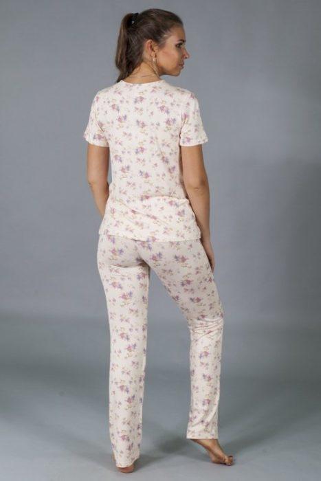 каприз пижама с брюками сзади