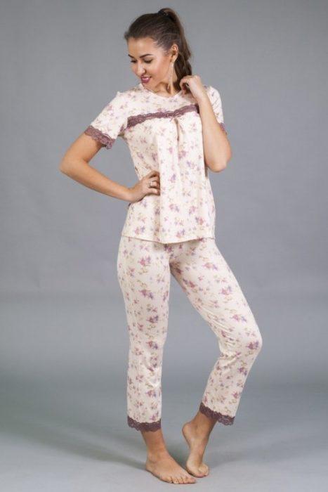 каприз пижама с рукавом