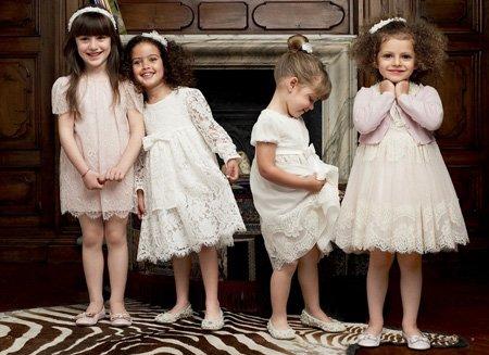 Модные детские платья
