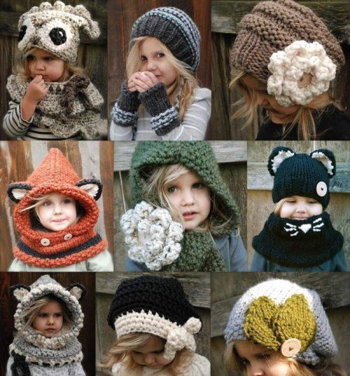 Модные шапки 2018