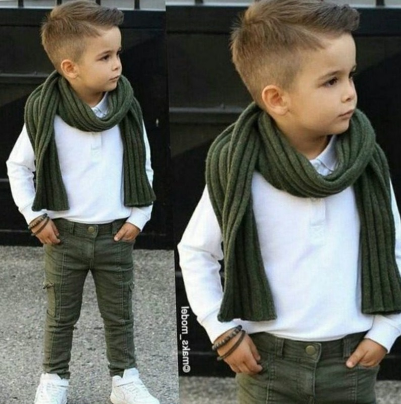 Модный образ мальчика
