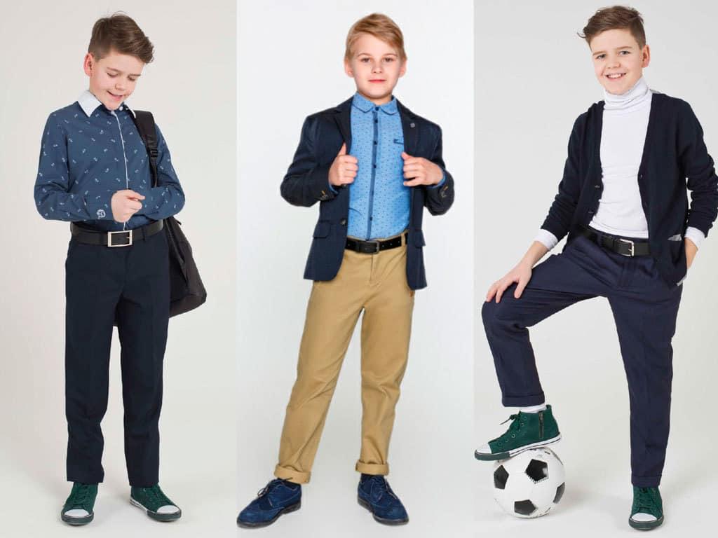 Модный школьный образ на мальчиков