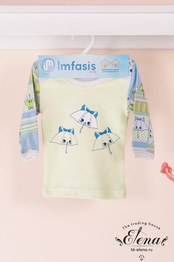 Купить детский трикотаж футболка с длинным рукавом