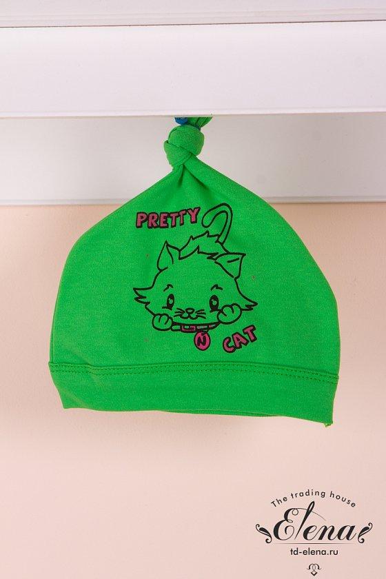 Купить детский трикотаж шапочка