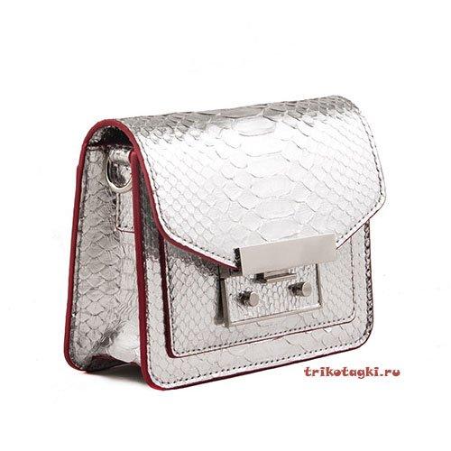 Поясная сумка питон