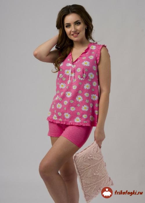 Пижама легкая фуксия