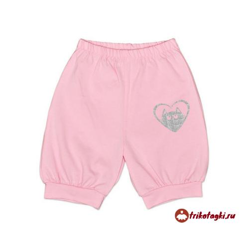 Шортики для девочки розовые