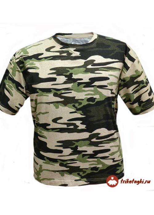Мужская футболка камуфлированная