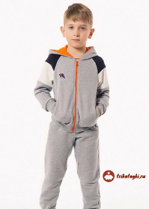 Костюм спортивный серый на мальчика