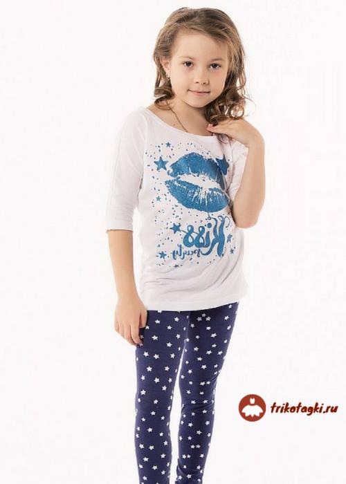 Костюм детский футболка с лосинами