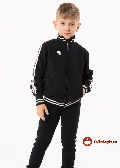 Спортивный костюм черный на мальчика