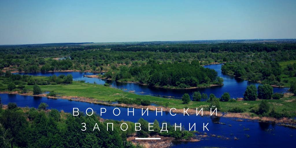 Воронинский заповедник Тамбовская область