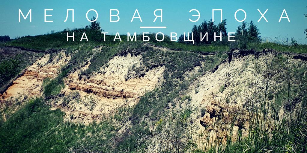 Никольское Тамбовская область Меловая эпоха