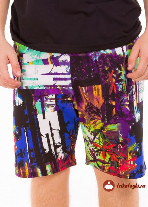 Мужские шорты цветные