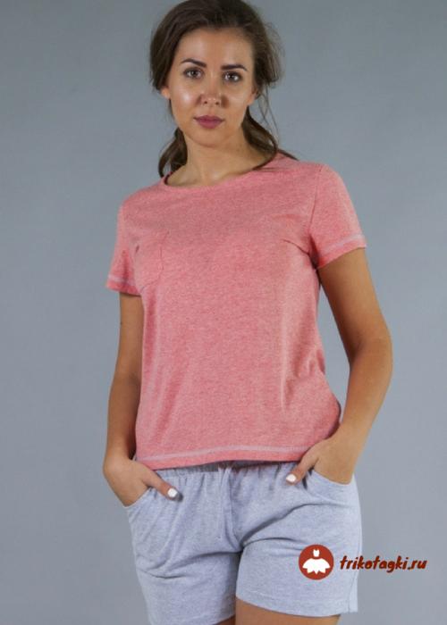 Комплект женский розовый