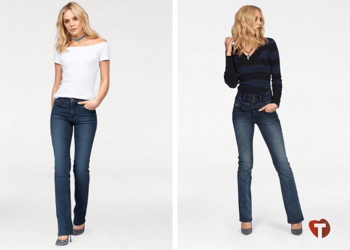 Прямые женские классические джинсы 2018/2019