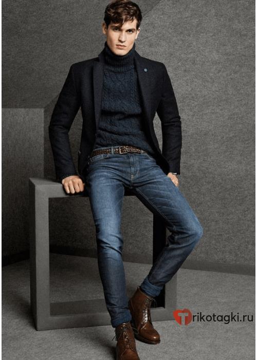 Модный мужской лук для осени