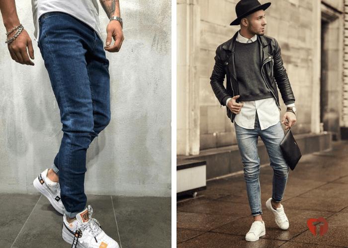 Мужчины в джинсах слим 2018/2019