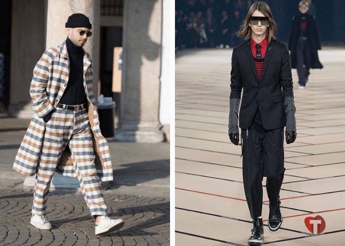 Мужские кроссовки мода осень зима 2018/2019