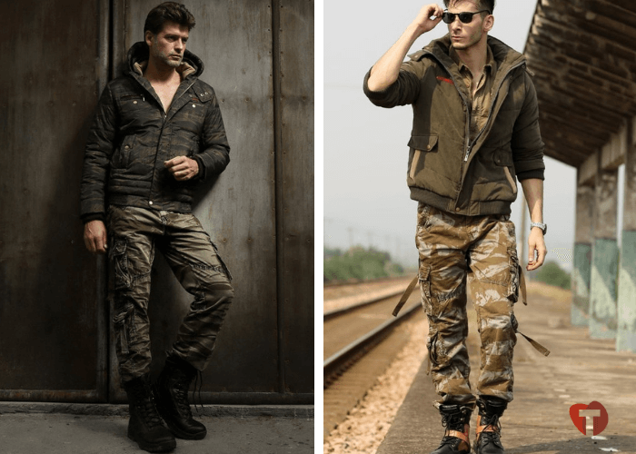 Мужчины стиль милитари мода осень зима 2018/2019