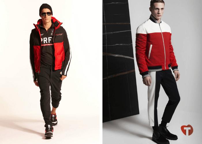 Спортивный стиль мода осень зима 2018/2019