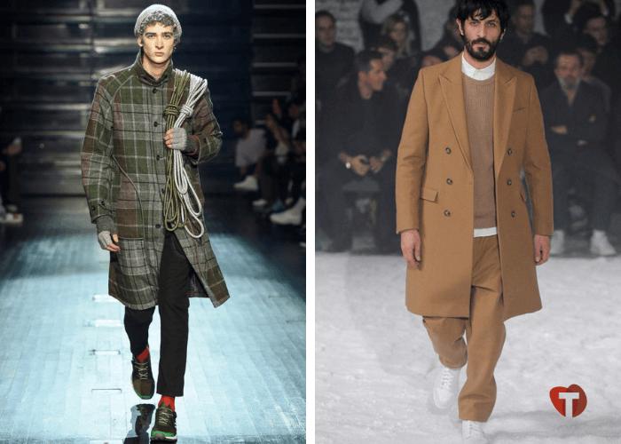 Мужские пальто осень зима 2018/2019