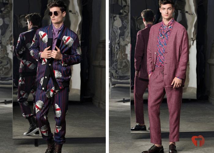 Пижамный стиль мода осень зима 2018/2019