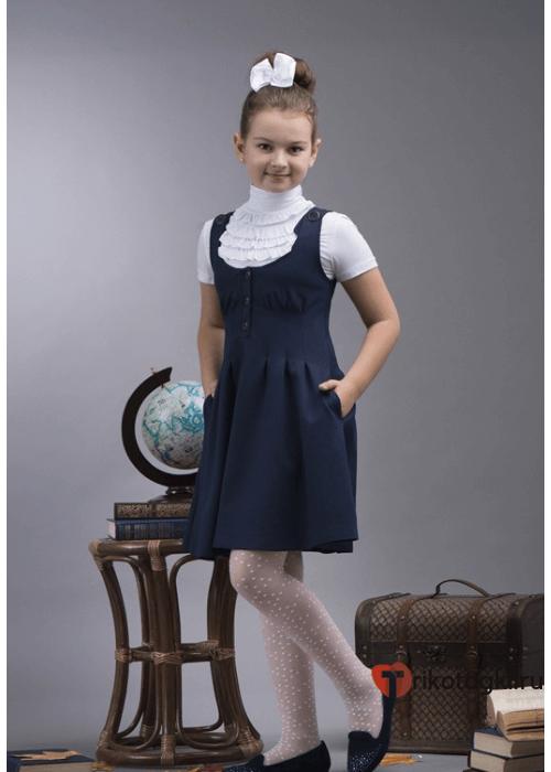Водолазка школьная белая для девочки