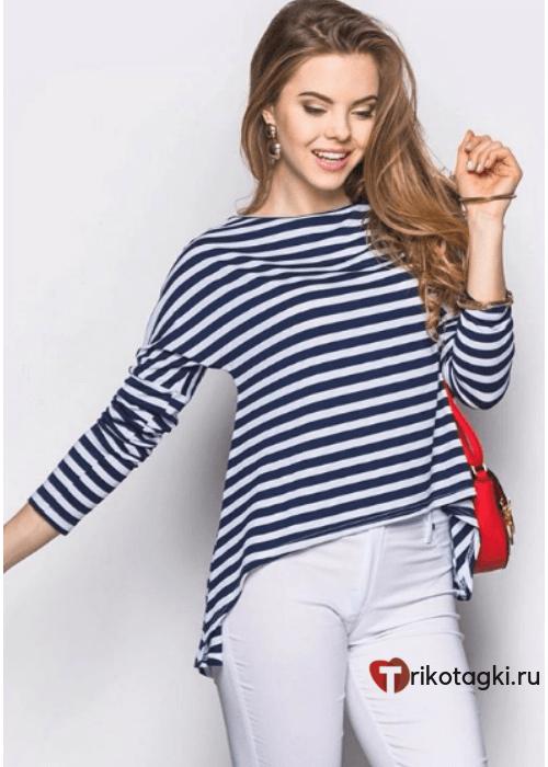 Туника женская морская