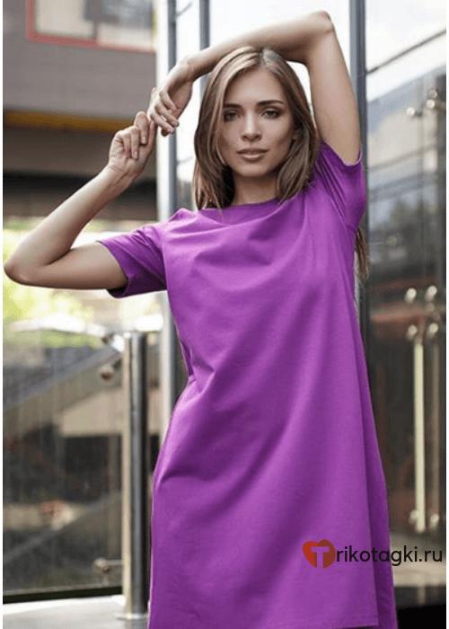 Туника женская фиолетовая