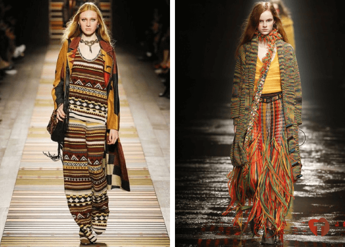 Женщины мода бохо