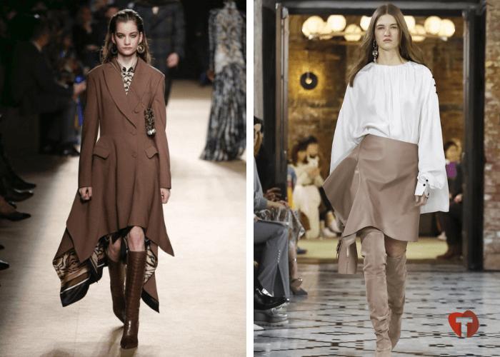 Женская мода ассиметрия