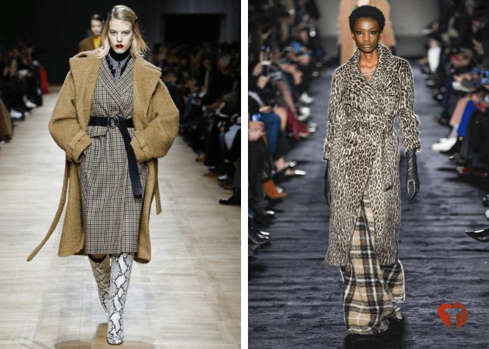 Женская мода 2018/2019 пальто