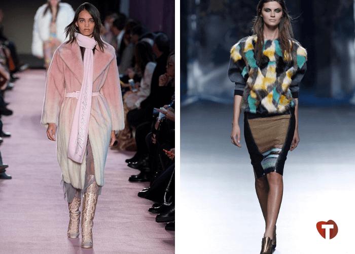 Женская мода 2018/2019 градиент, лоскуты
