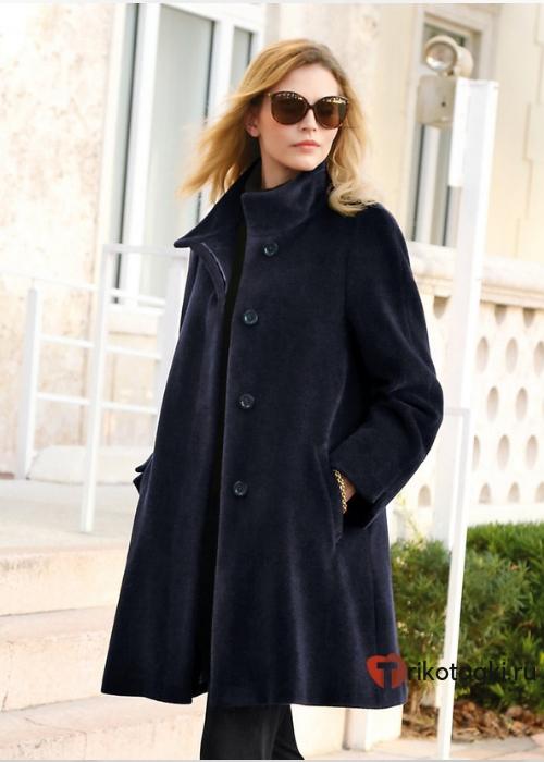 Женское пальто свингер
